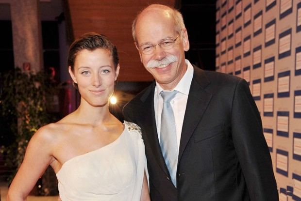 Dieter Zetsche With His Daughter