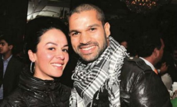 Shikhar Dhawan with his Younnger sister Shreshta Dhawan