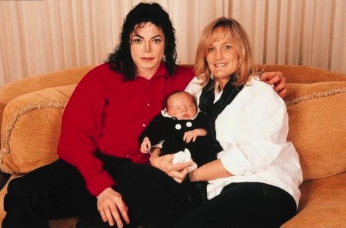 michael with Wife Debbie and son Prince