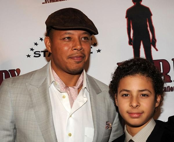 Terrence Howard with Son Hunter