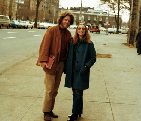 Bill and Hillary in 1973