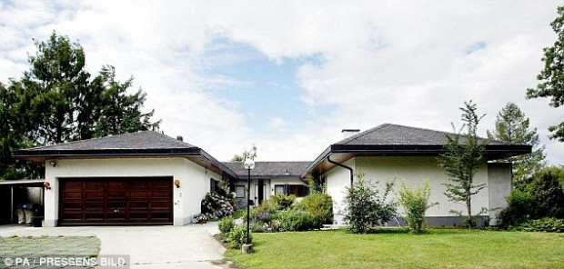 The home of IKEA founder, Ingvar Kamprad, in Switzerland.