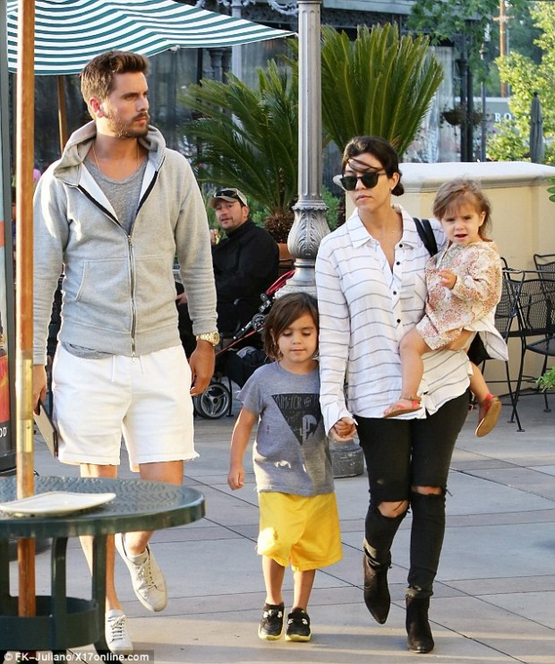 Kourtney With Full Family