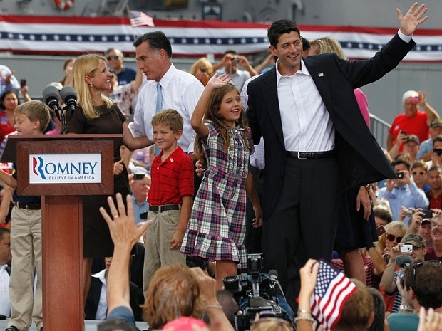 Paul Ryan With His Daughter Liza His Wife Janna