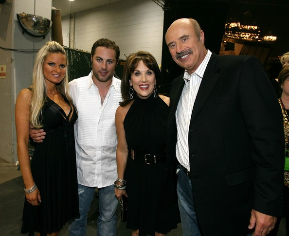 Phil McGraw Family At Country Music Awards