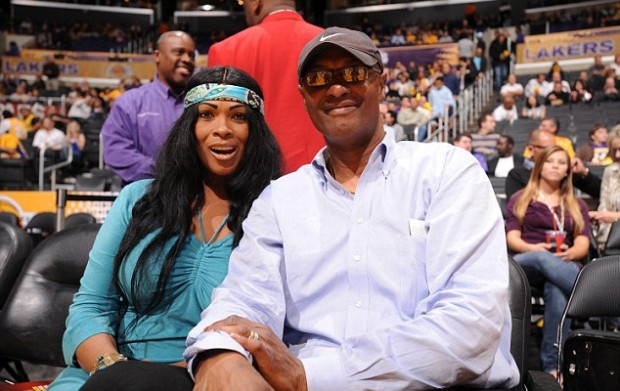 Kobe's Parents Pamela Bryant and Joe Bryant