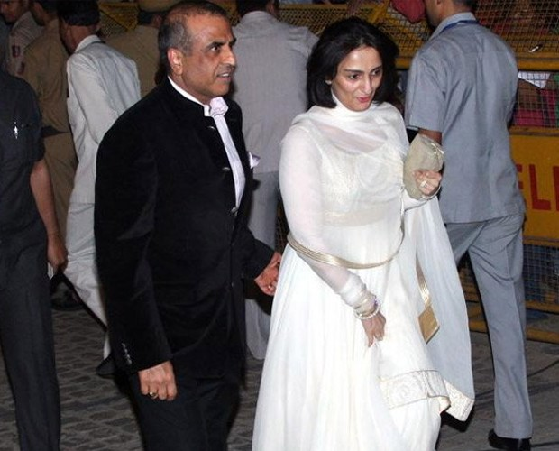 Sunil Mittal with His Wife Nyna Mittal
