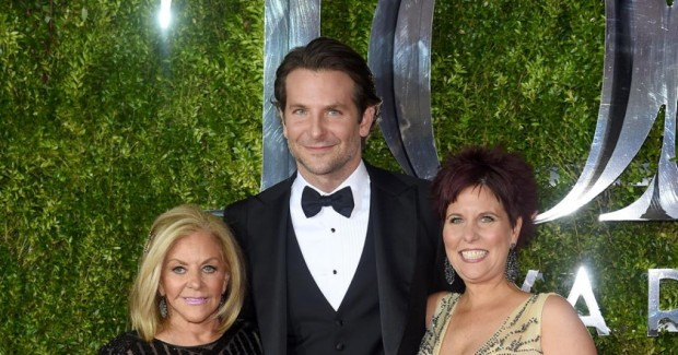 Bradley with His Mother Gloria and Sister Holly Cooper