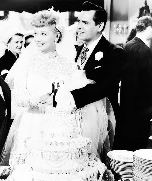 Lucille Ball and her Husband