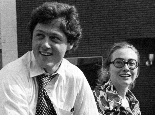 Bill and Hillary in 1974