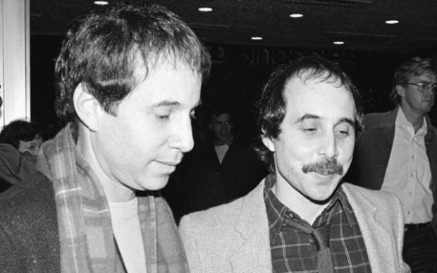 Paul Simon And His Brother Eddie Simon  In 1983