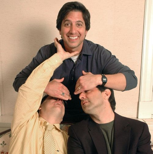 Ray Romano with His Brothers Robert and Richard