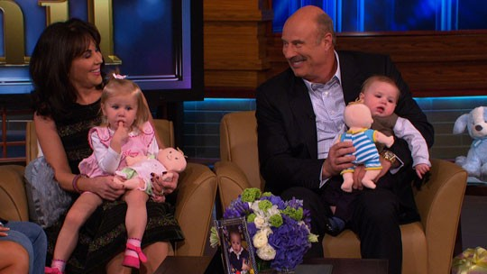 Phil McGraw And His Wife With Kids