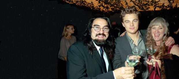 Leonardo DiCaprio With His Parents