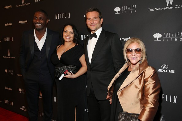 Bradley Cooper with His Mom at Netflix's Golden Globes