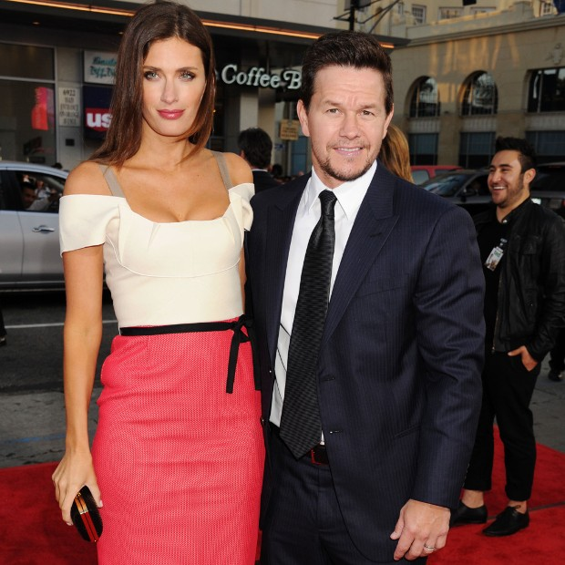 Mark Wahlberg With His Wife