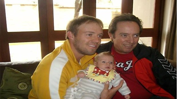 AB De Villiers With His Father