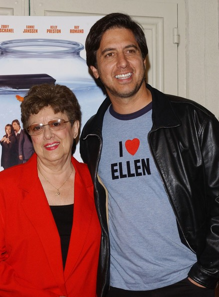 Ray Romano with His Mother Lucy
