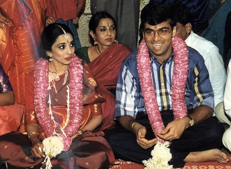 Viswanathan Anand Marriage With Aruna