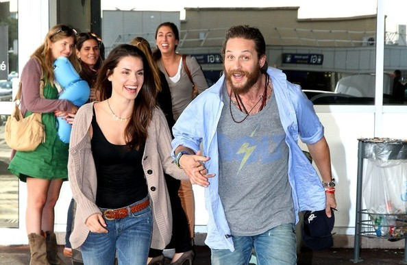 Tom Hardy with his Former Partner Rachael Speed