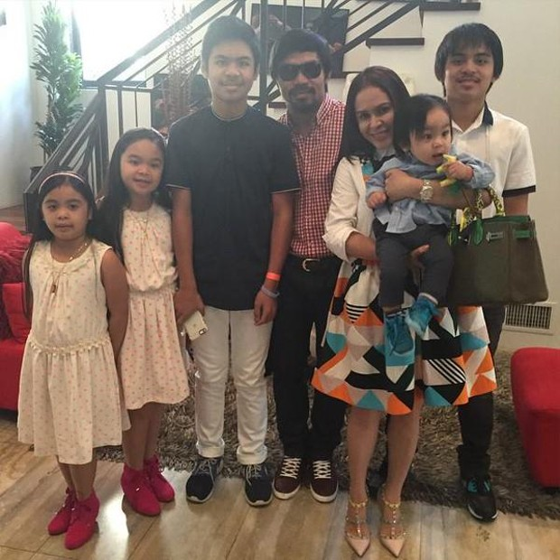 Manny Pacquiao Children