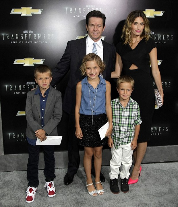 Mark Wahlberg Wife and Children