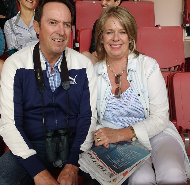 AB De Villiers Parents