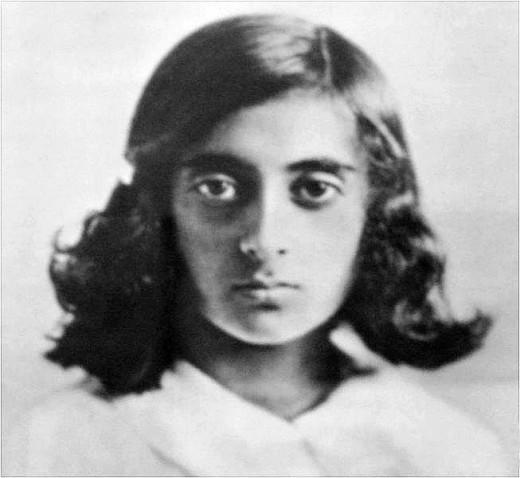 Indira Gandhi Childhood Photo