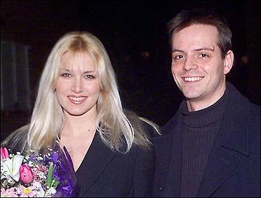 John Major's Son James Major with His Wife Emma