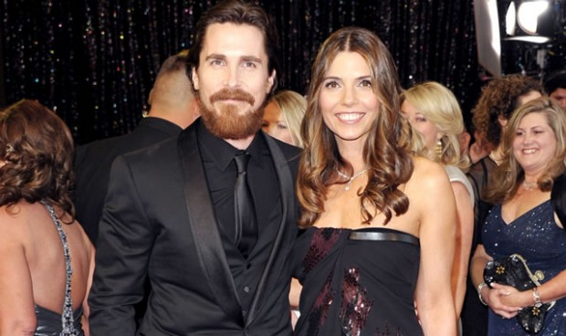 Christian Bale with His Love Lady Sibi Blazic