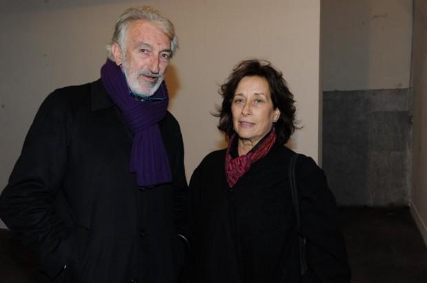 Federica's father Flavio Mogherini with Patrizia Molinari