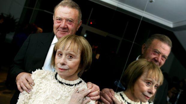 Fiona's father Richard Pratt and Jeanne Pratt