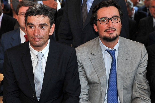 Ferrero brothers Pietro and Giovanni