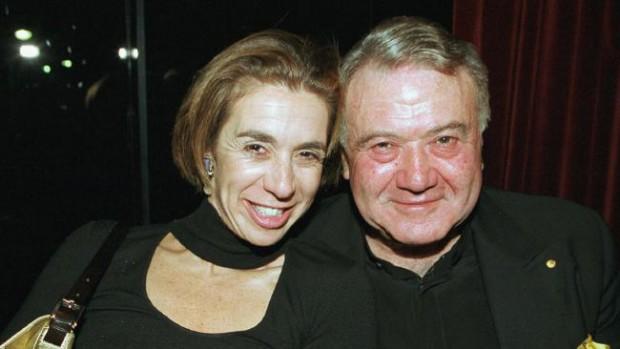 Fiona's sister Heloise and dad Richard Pratt