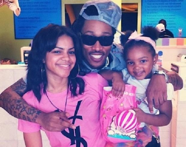 Rapper Future's daughter