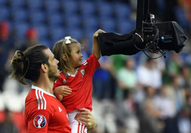 Gareth Bale daughter Alba Violet