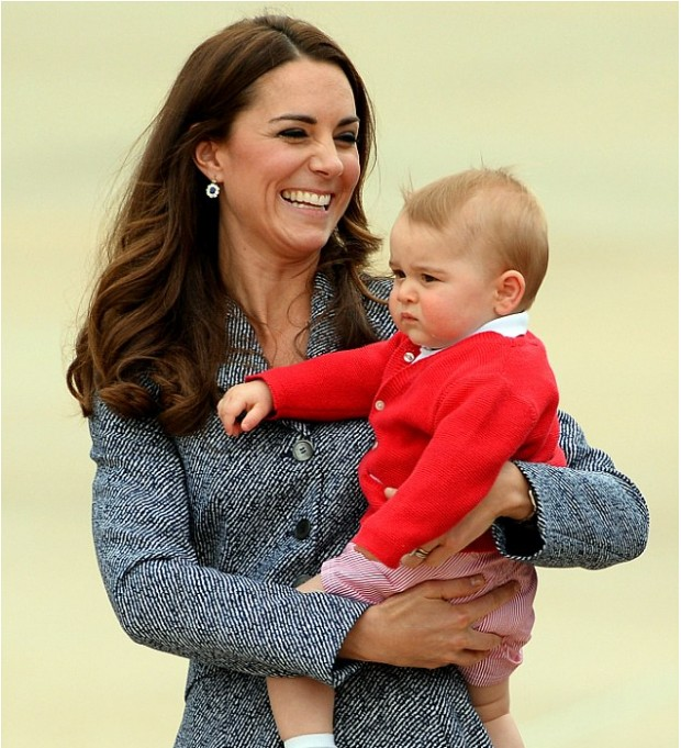 Kate with Her Son Prince George
