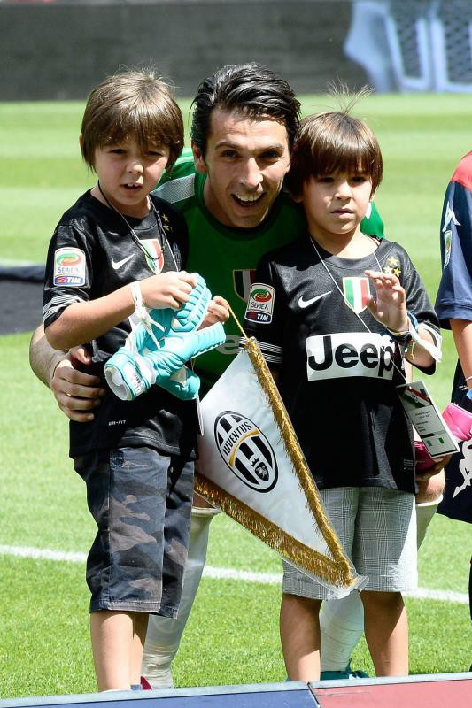 Gigi Buffon and his sons