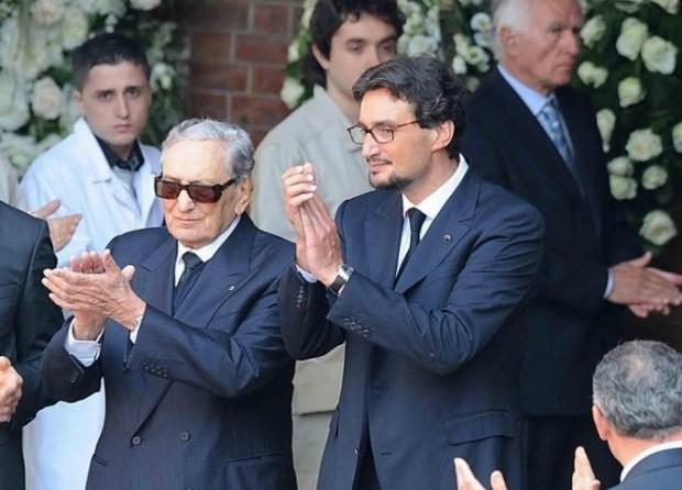 Giovanni Ferrero and his father Michele Ferrero