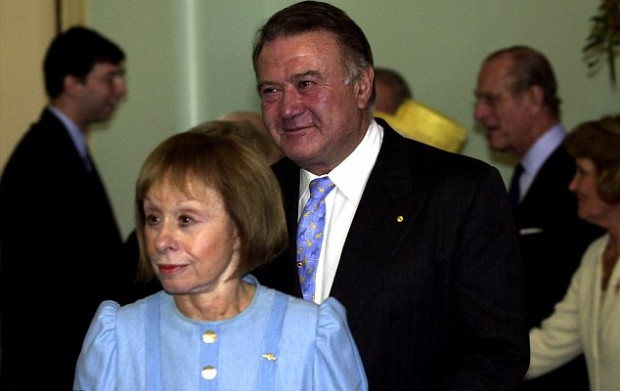 Heloise's parents father Richard Pratt and mother Jeanne