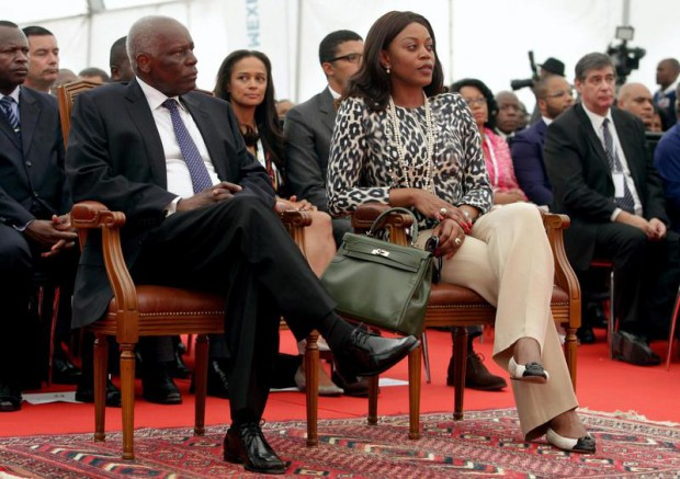 Isabel dos santos parents