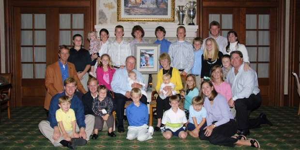 Jack with His Family Members