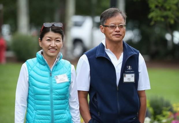 Jerry and Akiko Yamazaki