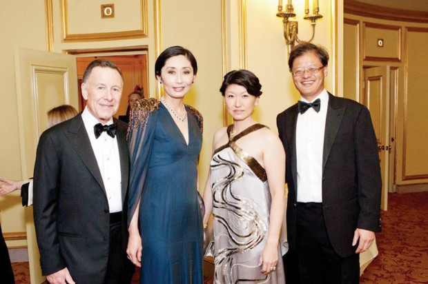 Jerry with his wife Akiko attended San Francisco Ballet 79th Gala