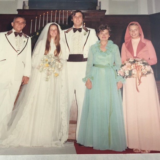 Jim Justice on his wedding day