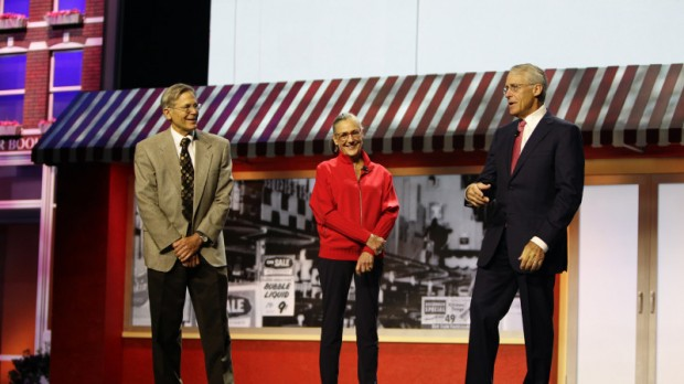 Jim with Alice Walton and Robson Walton