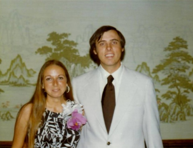 Jim with his wife Cathy