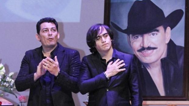 Joan Sebastian sons José Manuel Figueroa and Julián Figueroa