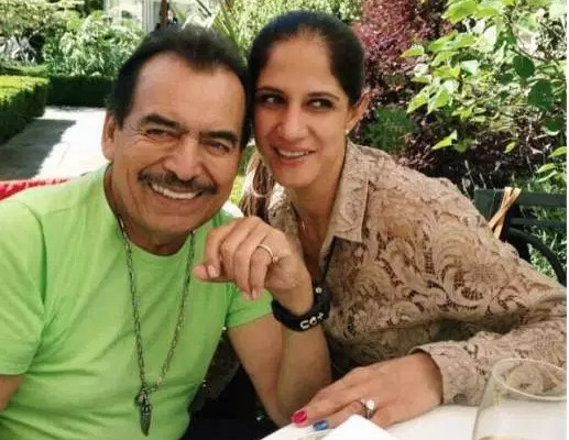 Joan Sebastian with his daughter Marcelia Figueroa