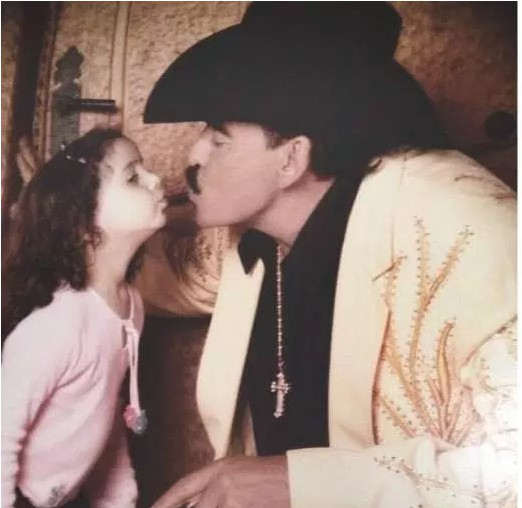 Joan with his daughter Marcelia